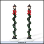 810828-small town street lamps set of 2