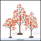 810845-village autumn maple trees set of 3