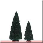 809455 purple glitter sisal trees