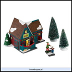 4028697-santas reindeer petting stable celebrate holiday set set of 4 incl.feeding the reindeer