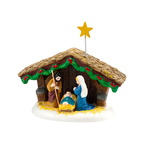 4030755 snow village nativity