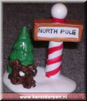 33097-north pole sign