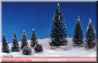 34058-assorted pine tree set of 9