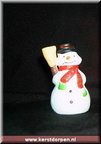 42105 snowman with broom