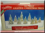 46020-10 lighted christmastrees