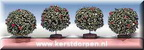 44087-2-inch round evergreen tree set of 2 bushes with