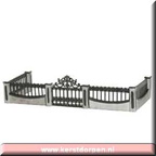 53153-iron gate and wall set of 5