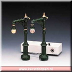 64120-4-inch victorian street lamp set of 2