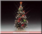 74161-6-inch lighted christmas tree