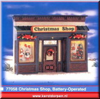 77058-christmas shop battery operated