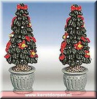 84269-poly-resin christmas tree with po