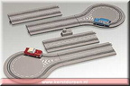 84213-classic car set with 2-way road p