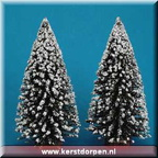 84226-12-inch evergreen tree set of 2
