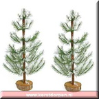 84228-12-inch white pine set of 2