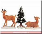 92298-stag and doe-set of 3