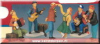 02422-sing-dance-be merry-set of 5