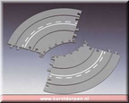 14662-2-piece curved road extension