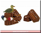 14636-wooden lobster crates set of 3