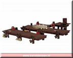 14642-wooden docks set of 2