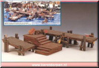 14643-wooden docks set of 3
