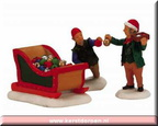 12522-ornament sleigh set of 3