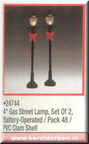 24744-4-inch gas street lamp set of 2