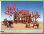 26268-anne of green gable bright river train station set of 11