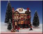 26307-7 pc. gingerbread house set