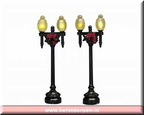 34892-globe street lamp set of 2