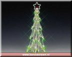 34900-lighted sculpture slim christmas tree