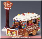 43425-gingerbread bus set of 2