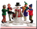 52112-ring around the snowman set of 3