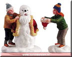 52115-our santa snowman set of 2
