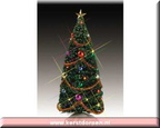 54365-9-inch decorated yule tree