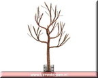54371-9-inch lighted hickory tree