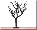 54312-black crystal tree large