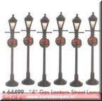 64499-4 inch gas lantern street lamp set of 6