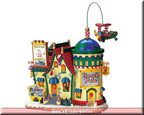 75556 north pole travel animated - musical exterior lit