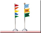 84811-carnival flags  set of 2