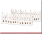 84812-wooden fence set of 2
