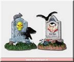 04169-tombstone pair  set of 2