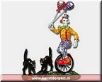 02765-ghoul clown  set of 3