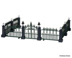 24534-classic victorian fence set of 7
