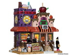 spooky-trick or treat candy shop