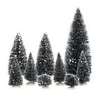 608.319-bristle tree  set of 9
