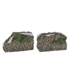 609.154-nature stone wall set of 2