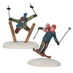 609.113-ski jumpers  set of 2