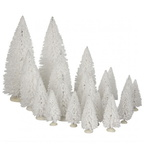 609.159-tree white  set of 21