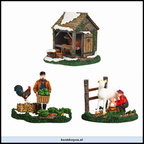 610.036-farm life  set of 3