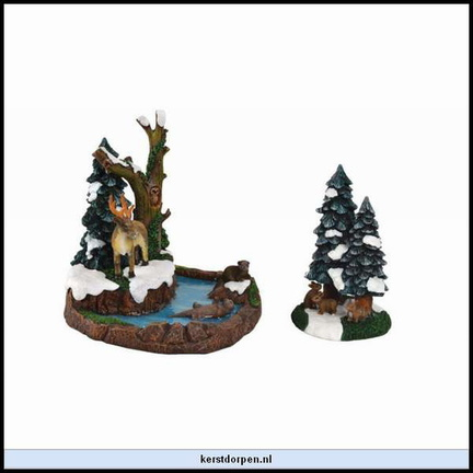 610.037-merry forest  set of 2